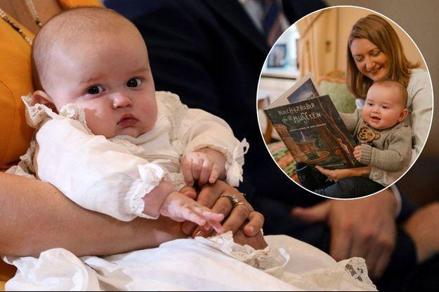 Le prince Charles de Luxembourg le 20 septembre 2020 - En vignette, avec sa mère la princesse Stéphanie