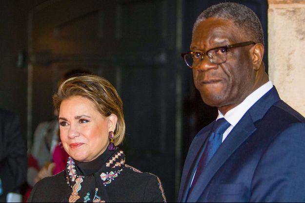 Maria Teresa du Luxembourg et Dr Denis Mugwege.