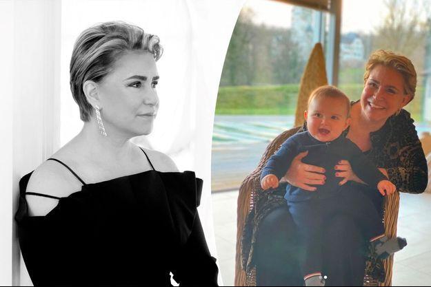 Photos diffusées pour les 65 ans de la grande-duchesse Maria Teresa de Luxembourg, ce lundi 22 mars 2021
