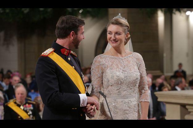 Le prince Guillaume et sa princesse Stéphanie.