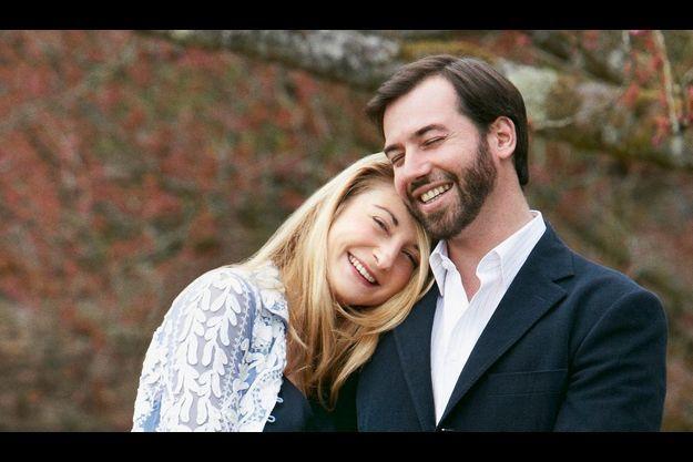 Le prince Guillaume, Grand-Duc héritier du Luxembourg, et la comtesse Stéphanie de Lannoy.