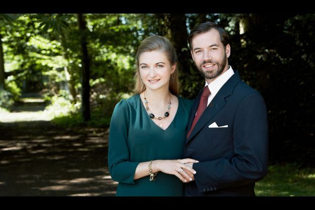 Le prince Guillaume et la comtesse Stéphanie.