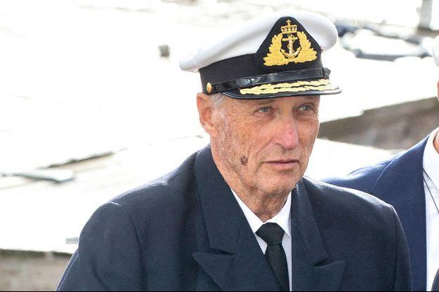 Le roi Harald V de Novège, le 24 septembre 2020