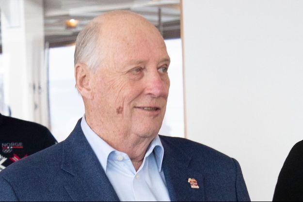 Le roi Harald V de Norvège, le 16 février 2019