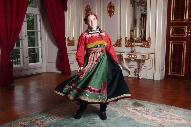 La princesse Ingrid Alexandra de Norvège, à Oslo le 31 août 2019, jour de sa confirmation