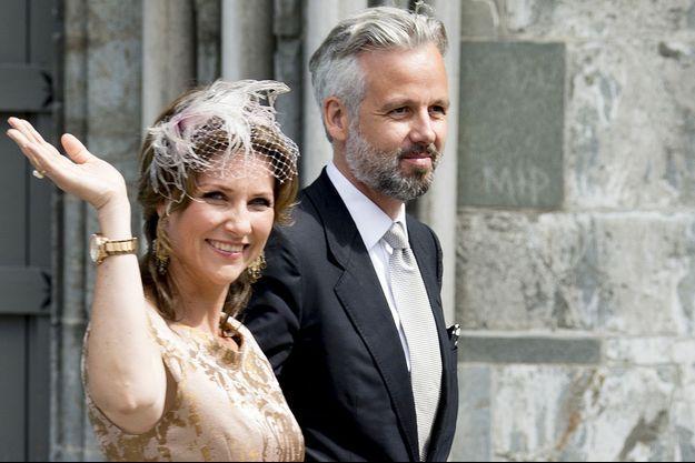 La princesse Märtha Louise de Norvège et son mari Ari Behn à Trondheim, le 23 juin 2016