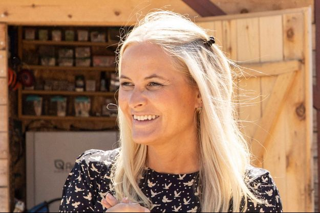 La princesse Mette-Marit de Norvège, le 3 juin 2021