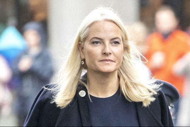 La princesse Mette-Marit de Norvège à Oslo, le 28 septembre 2019