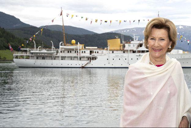 La reine Sonja de Norvège, le 19 juin 2019