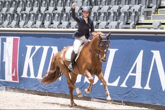 La princesse Märtha Louise de Norvège participe au Oslo Horse Show le 12 octobre 2017