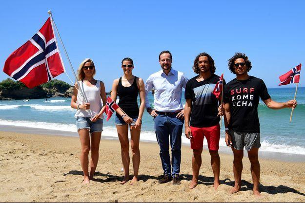 Le prince Haakon de Norvège à Biarritz, le 24 mai 2017