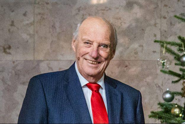 Le roi Harald V de Norvège. Photo diffusée le 15 décembre 2020