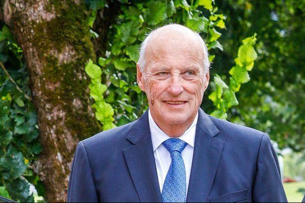 Le roi Harald V de Norvège, le 5 septembre 2020