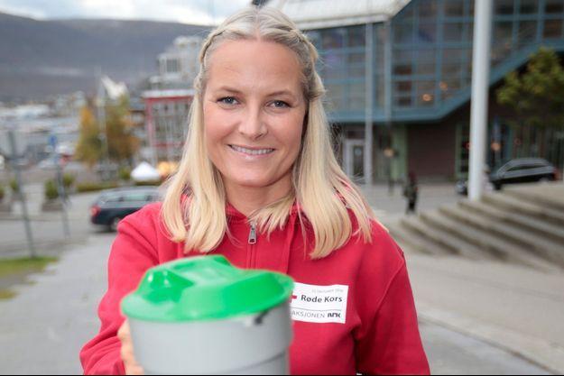 La princesse Mette-Marit à Tromso en prélude du Telethon, le 27 septembre 2016
