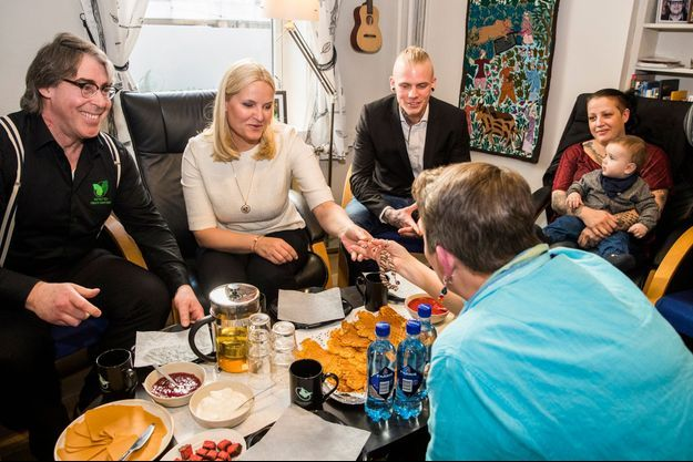 La princesse Mette-Marit de Norvège de Norvège à Oslo, le 7 mars 2017