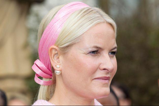 La princesse Mette-Marit de Norvège le 7 novembre 2017