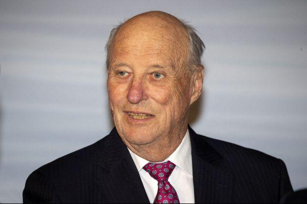 Le roi Harald V de Norvège, le 4 mars 2020
