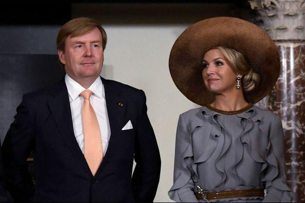 Le roi Willem-Alexander des Pays-Bas et son épouse la reine Maxima, en novembre 2016.