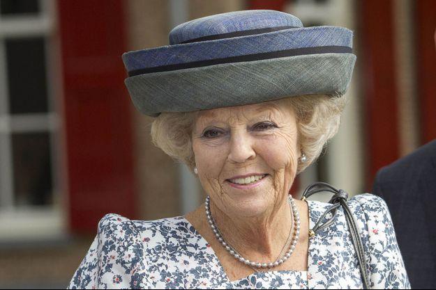 L'ex-reine Beatrix des Pays-Bas à Oldebroek, le 21 septembre 2016