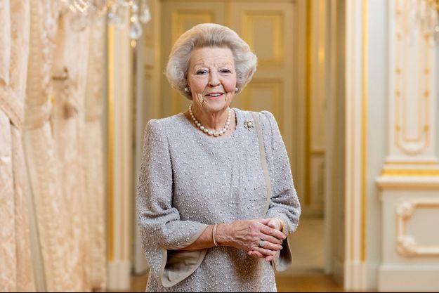 Le nouveau portrait de la princesse Beatrix des Pays-Bas. Photo prise en 2020 et dévoilée le 31 janvier 2021 pour ses 83 ans