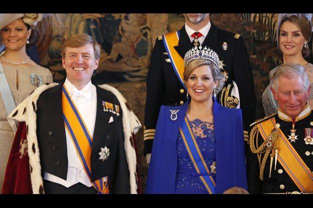 Le roi Willem-Alexander et la reine Maxima.