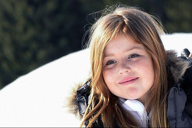 La princesse Alexia des Pays-Bas à Lech, le 22 février 2016