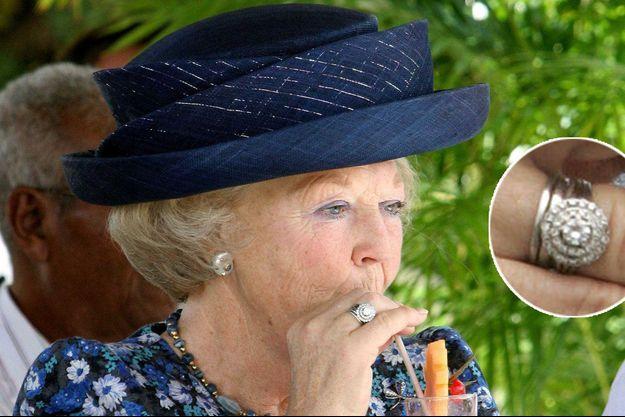 La reine Beatrix des Pays-Bas, le 9 novembre 2006