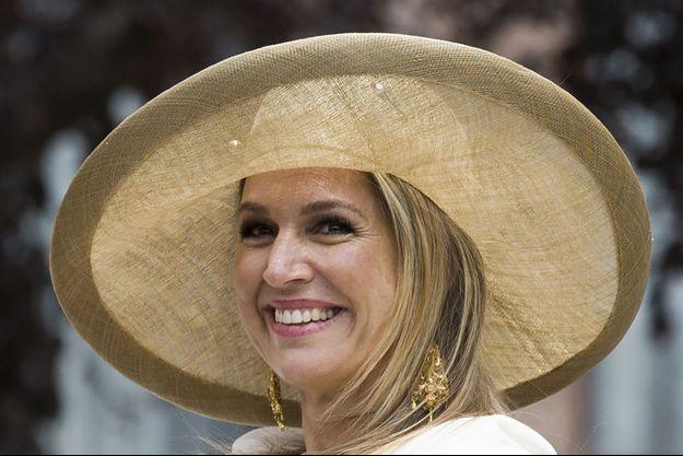 La reine Maxima des Pays-Bas, en mai 2015