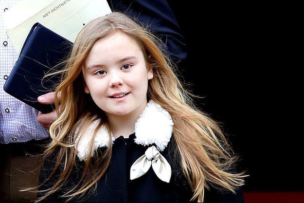 La princesse Ariane des Pays-Bas le 4 février 2018
