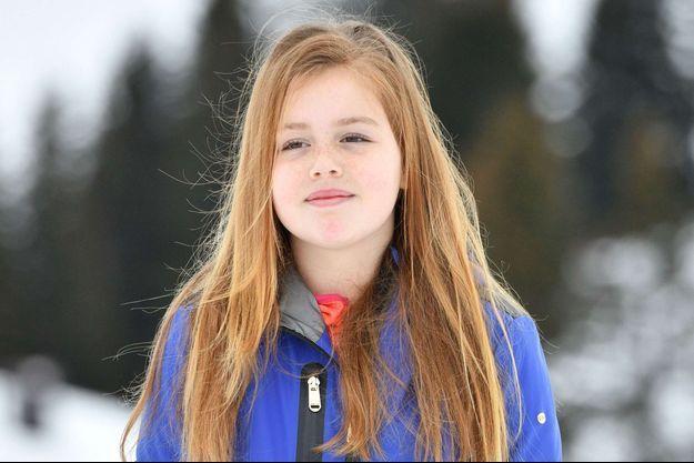 La princesse Alexia des Pays-Bas le 27 février 2017