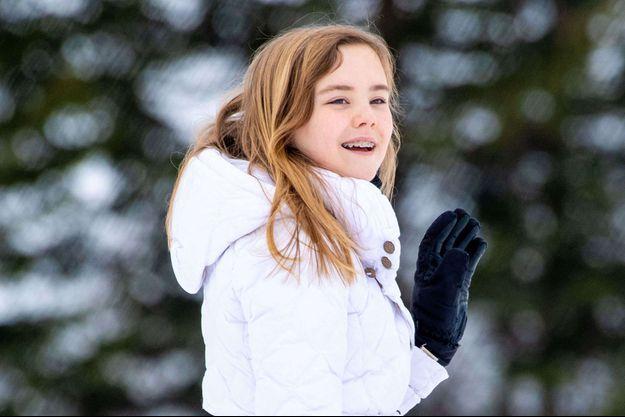 La princesse Ariane des Pays-Bas, le 25 février 2020