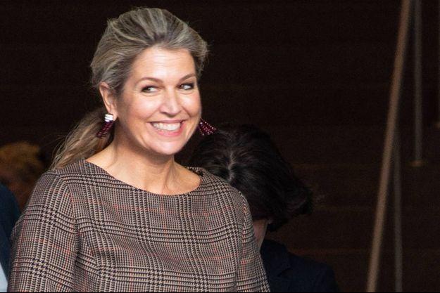La reine Maxima des Pays-Bas, le 6 novembre 2019
