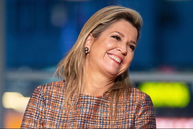 La reine Maxima des Pays-Bas, le 2 décembre 2020