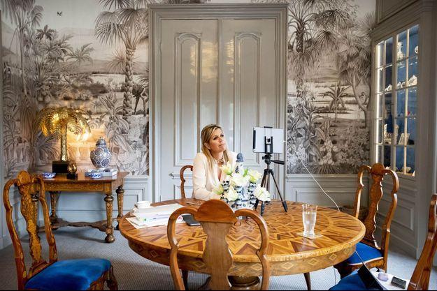 La reine Maxima des Pays-Bas à La Haye, le 23 septembre 2020