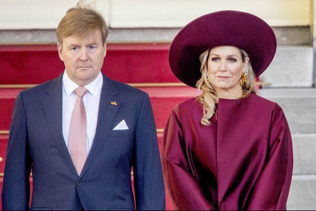 Le roi Willem-Alexander et la reine Maxima des Pays-Bas, le 14 novembre 2018