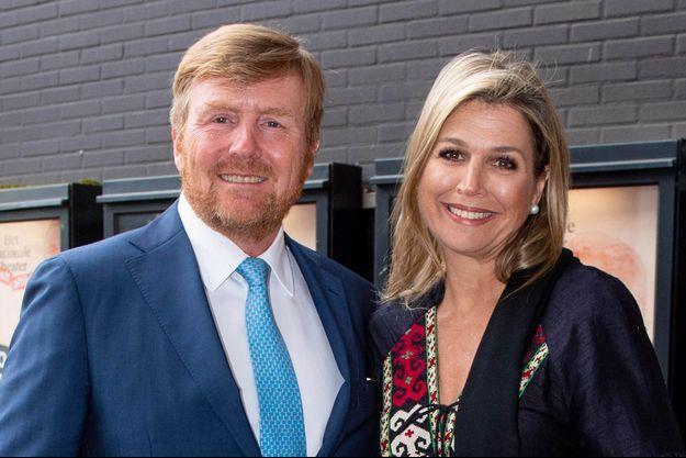 La reine Maxima et le roi Willem-Alexander des Pays-Bas, le 3 juin 2020