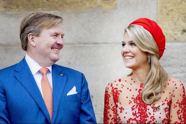 La reine Maxima et le roi Willem-Alexander des Pays-Bas, le 11 octobre 2018
