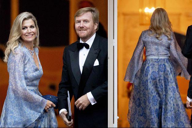 La reine Maxima et le roi Willem-Alexander des Pays-Bas à La Haye, le 11 septembre 2019