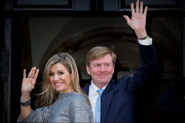 La reine Maxima et le roi Willem-Alexander des Pays-Bas à Amsterdam, le 4 décembre 2015