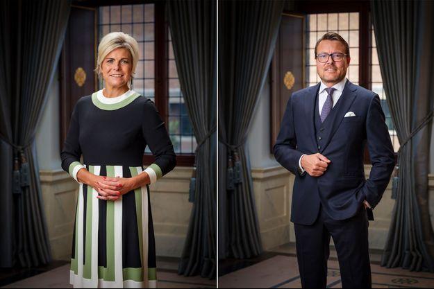 Les nouveaux portraits de la princesse Laurentien et du prince Constantijn des Pays-Bas, dévoilés début octobre 2020