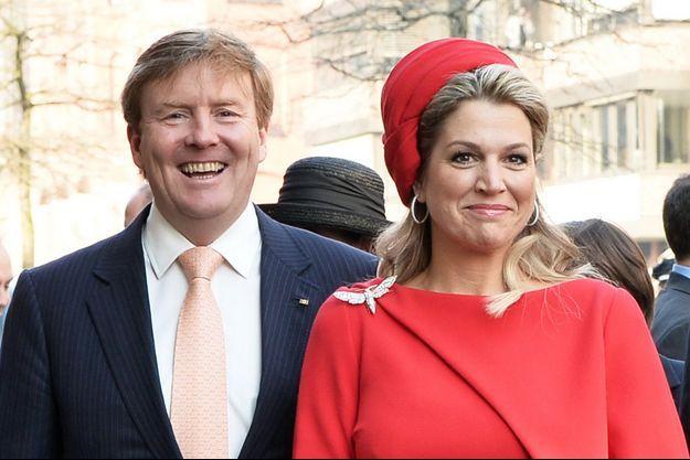 Le roi Willem-Alexander et la reine Maxima des Pays-Bas à Hambourg, le 20 mars 2015
