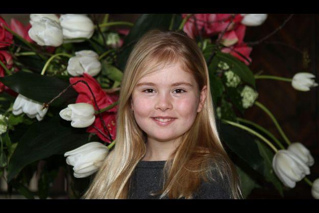 La princesse Catharina-Amalia en 2012.