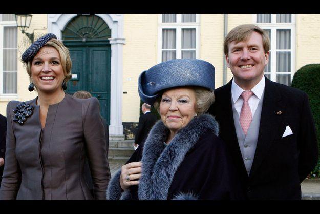 Maxima, Beatrix et Willem-Alexander
