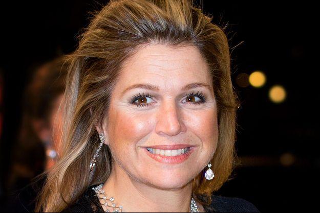 La reine Maxima des Pays-Bas, le 8 novembre 2014