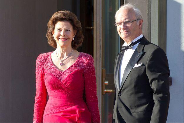 Le roi Carl Gustaf et la reine Silvia.