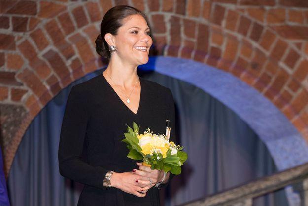 La princesse Victoria de Suède à Stockholm, le 21 mars 2017