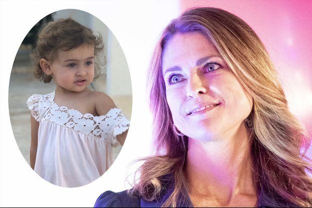 La petite princesse Adrienne de Suède a fêté ses 2 ans en Floride