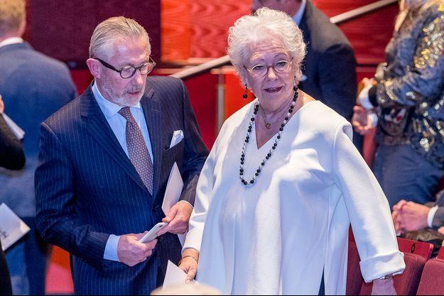 La princesse Christina de Suède et son mari Tord Magnuson, le 27 janvier 2017