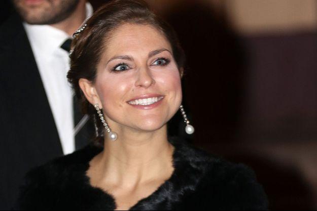 La princesse Madeleine de Suède à Stockholm, le 20 décembre 2015