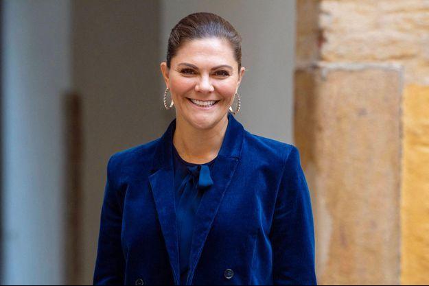 La princesse Victoria de Suède, le 15 octobre 2020
